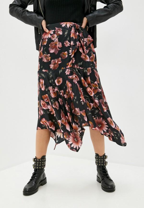 женская юбка the kooples, черная