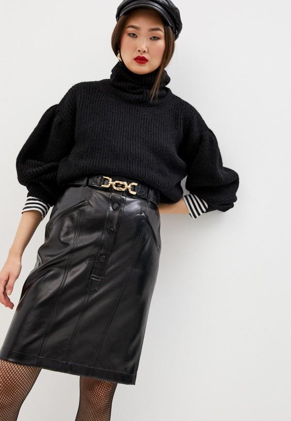 женский свитер the kooples, черный