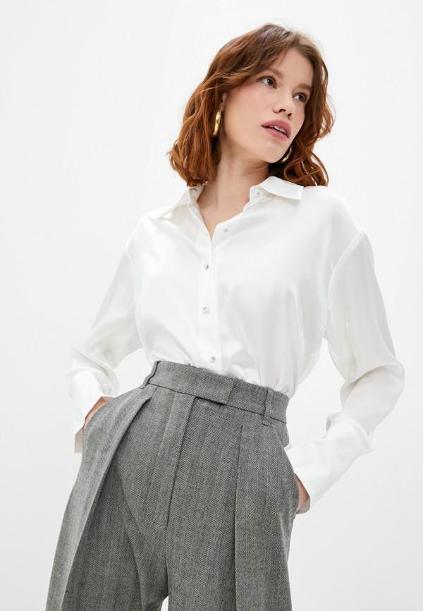 женская блузка the kooples, белая
