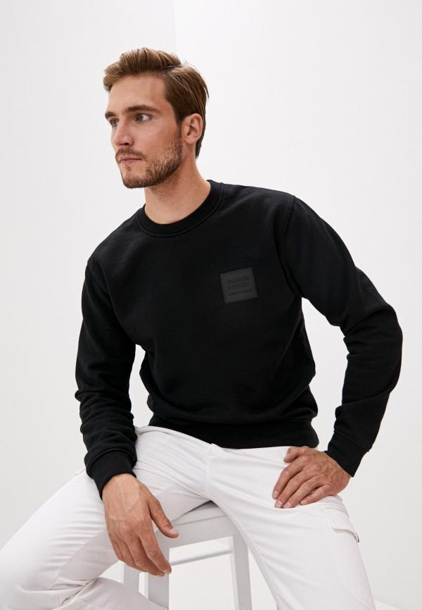 мужской свитшот the kooples sport, черный