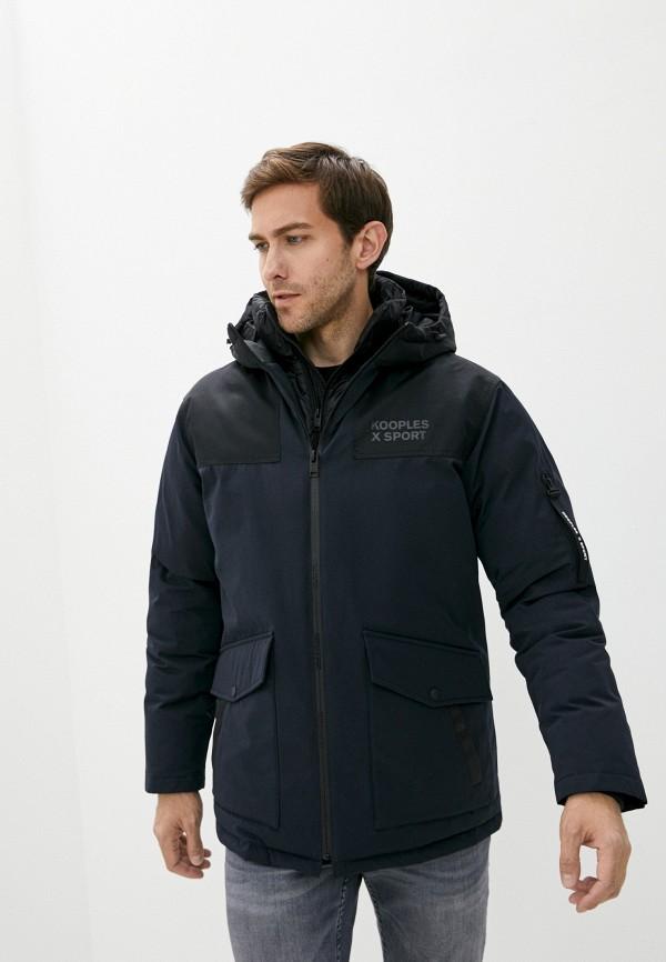 мужская куртка the kooples sport, синяя