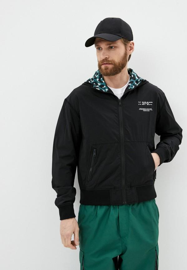 мужская куртка the kooples sport, черная