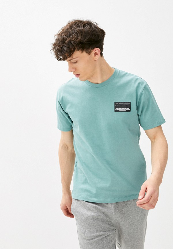 мужская футболка the kooples sport, бирюзовая