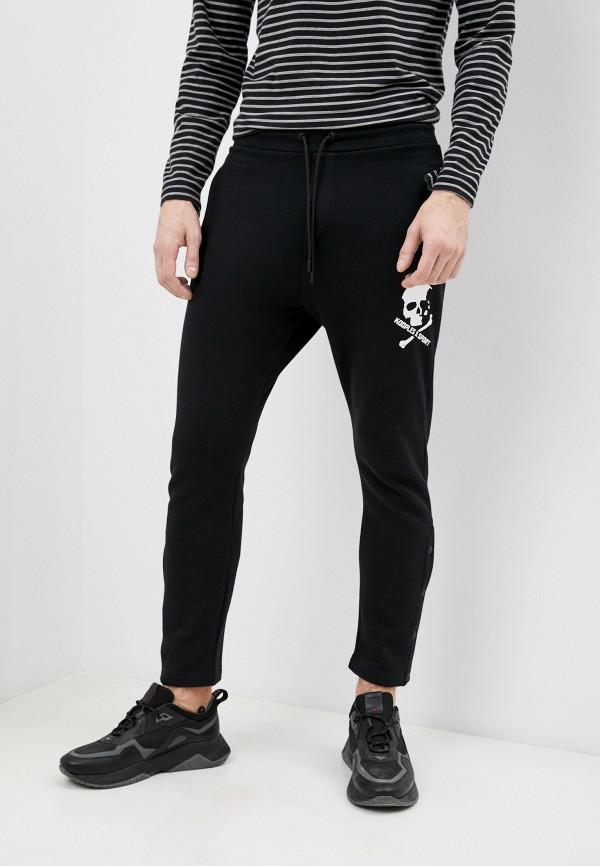 мужские спортивные брюки the kooples sport, черные