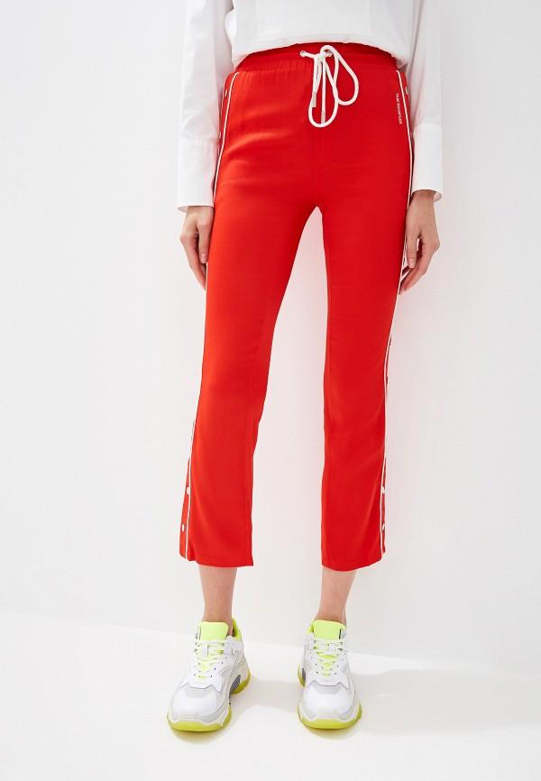 женские спортивные брюки the kooples sport, красные