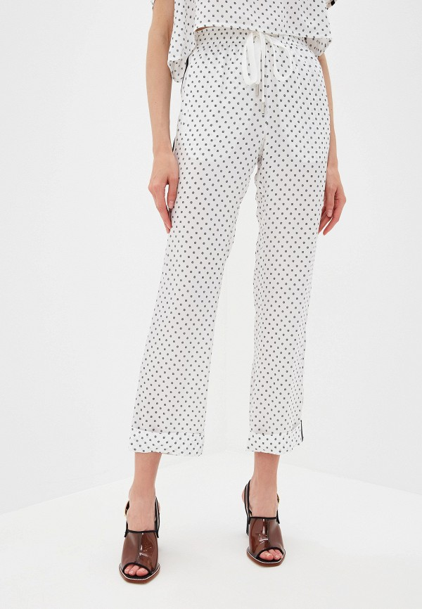 женские повседневные брюки the kooples sport, белые