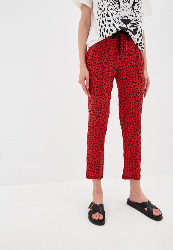 женские повседневные брюки the kooples sport, красные