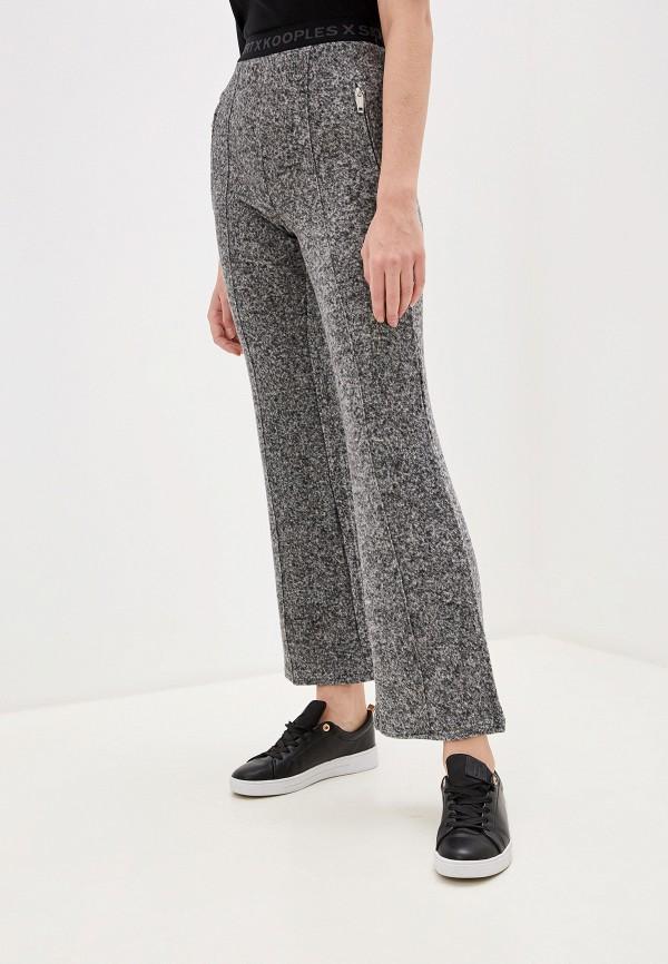 женские повседневные брюки the kooples sport, серые