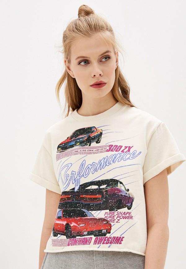 женская футболка the kooples sport, разноцветная