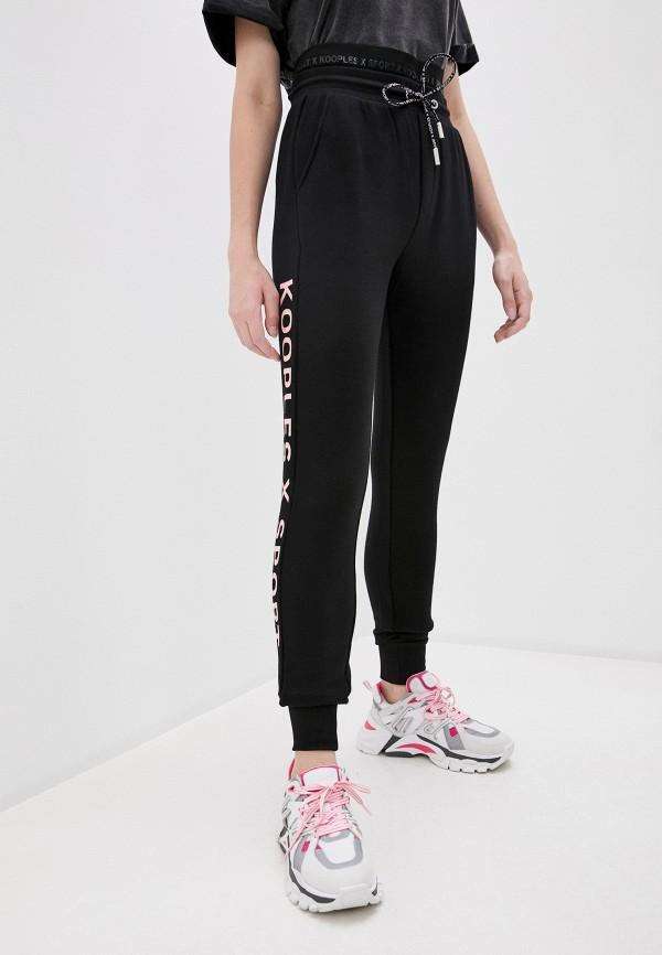 женские спортивные брюки the kooples sport, черные