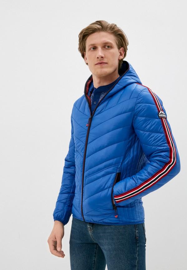 мужская куртка the wild stream, синяя