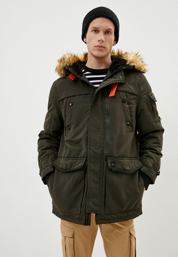 мужская куртка the wild stream, хаки