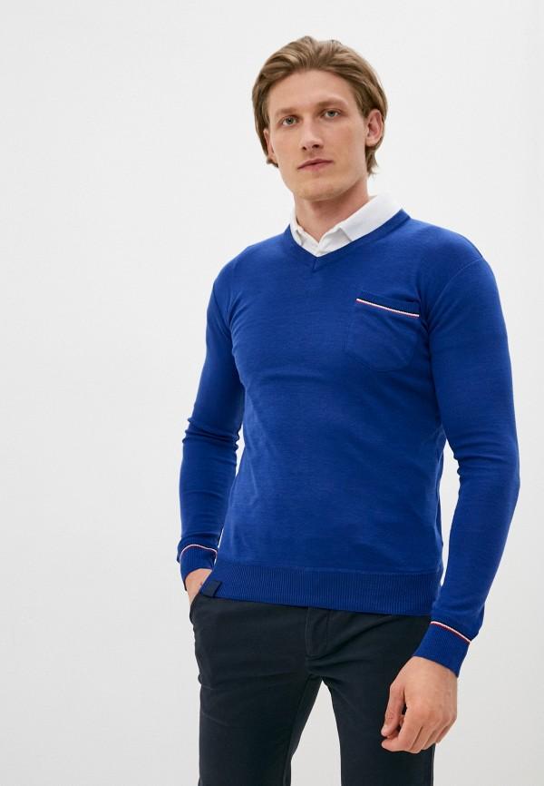 мужской пуловер the wild stream, синий