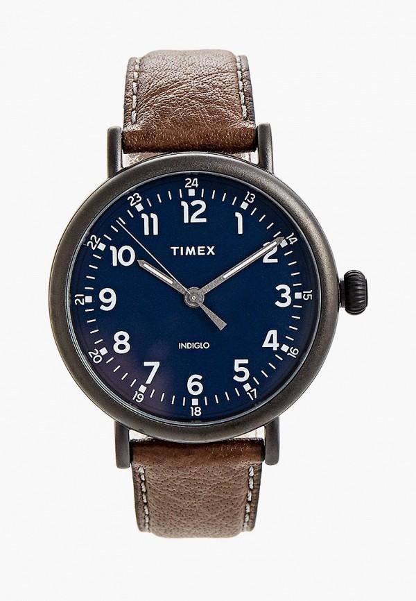 мужские часы timex, коричневые