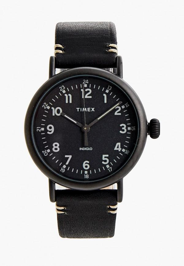 мужские часы timex, черные