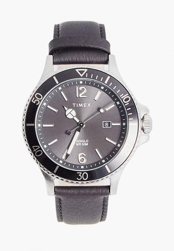 мужские часы timex, серебряные