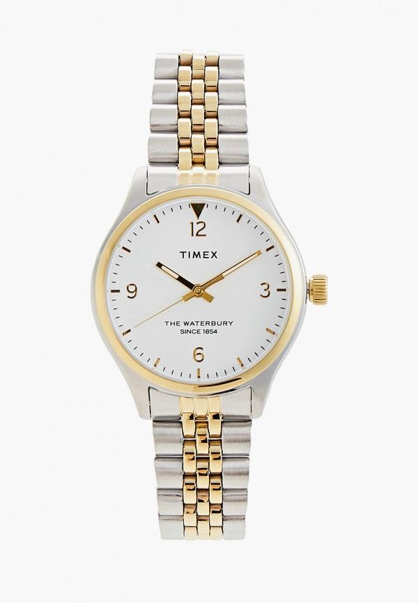 женские часы timex, серебряные