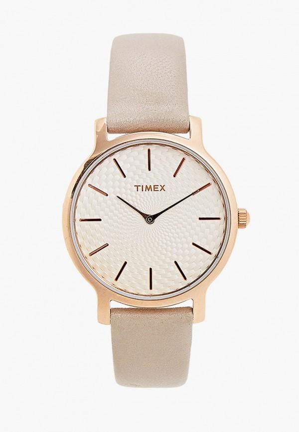 женские часы timex, серые