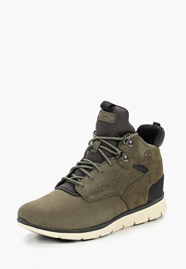 ботинки timberland для мальчика, зеленые