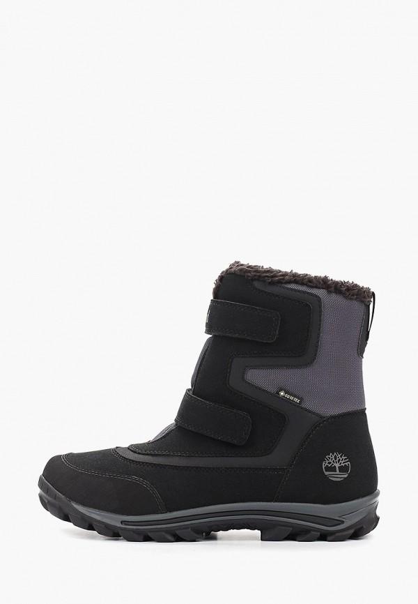 ботинки timberland для мальчика, черные