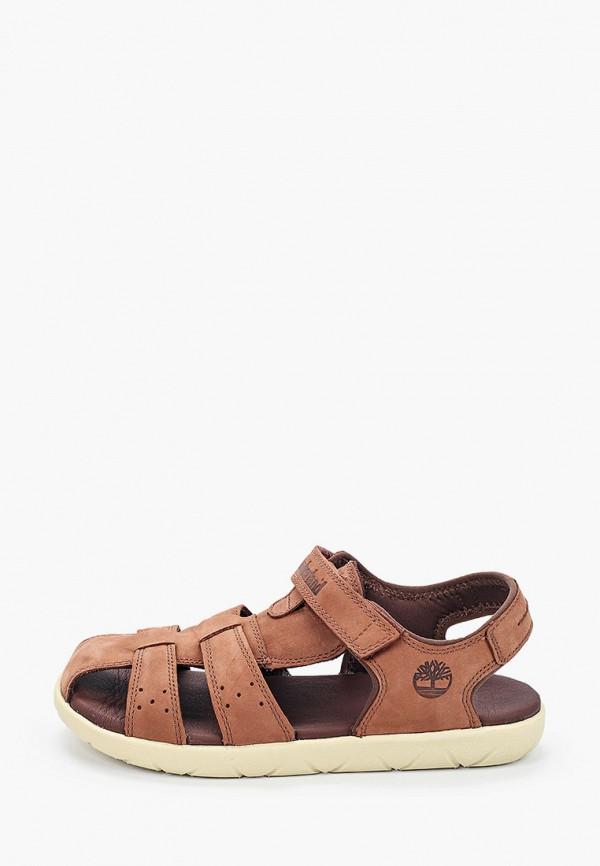 сандалии timberland для мальчика, коричневые