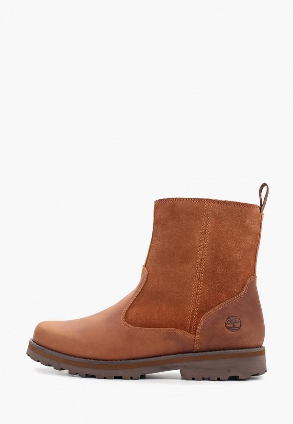 ботинки timberland для девочки, коричневые