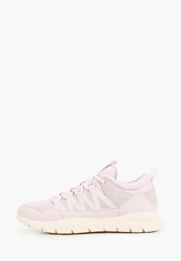 кроссовки timberland для девочки, розовые