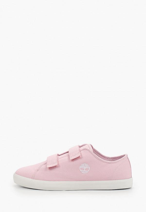 кеды timberland для девочки, розовые