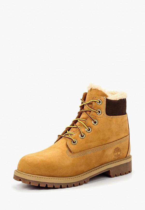 ботинки timberland малыши, коричневые