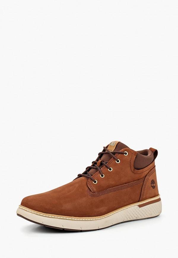 мужские ботинки timberland, коричневые