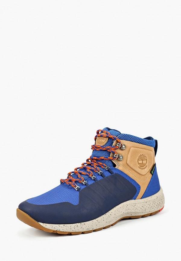 Купить Ботинки трекинговые Timberland, FLYROAM TRAIL FABRIC TRUE BLUE, TI007AMCGSH8, синий, Осень-зима 2018/2019