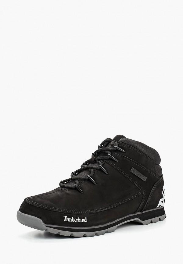 Купить Ботинки трекинговые Timberland, EURO SPRINT HIKER JET BLACK, ti007amcgsi6, черный, Осень-зима 2018/2019