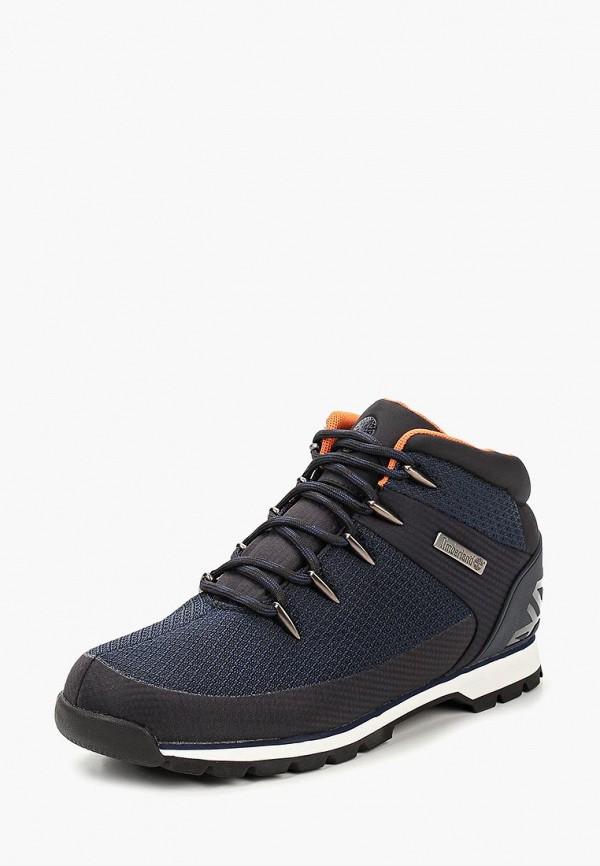 Купить Ботинки трекинговые Timberland, EURO SPRINT FABRIC W BLACK IRIS, ti007amcgsj6, синий, Осень-зима 2018/2019