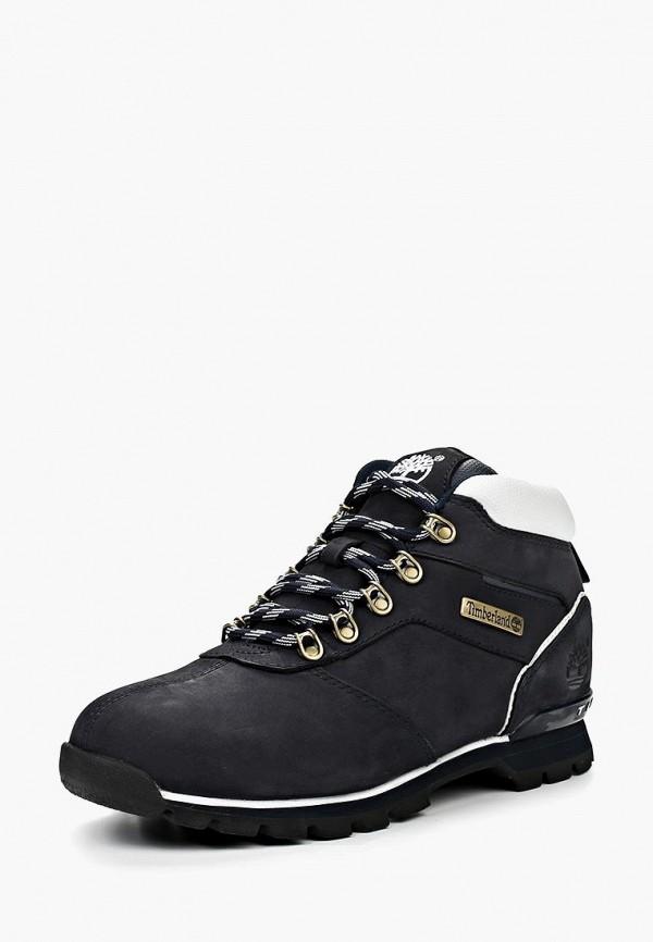 мужские высокие ботинки timberland, синие