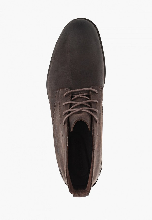 Фото 4 - мужские ботинки и полуботинки Timberland коричневого цвета