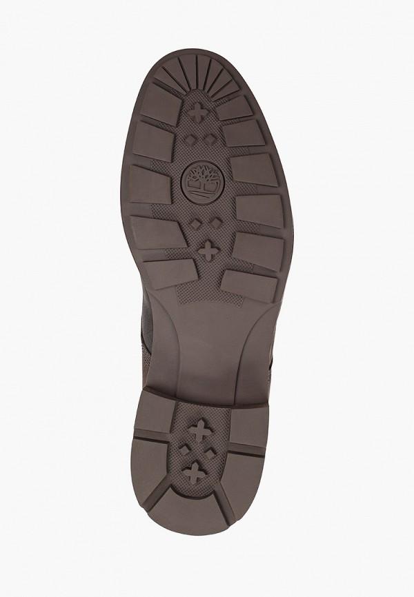 Фото 5 - мужские ботинки и полуботинки Timberland коричневого цвета