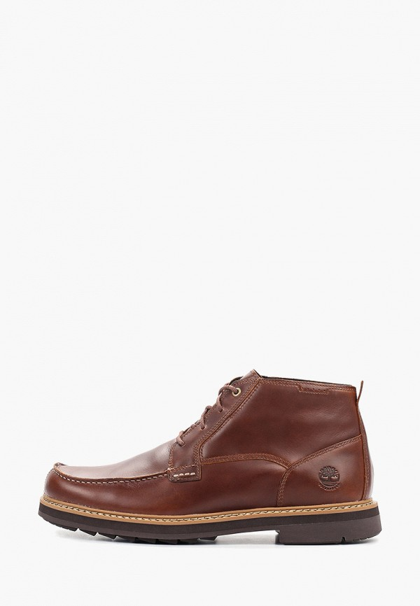 мужские высокие ботинки timberland, коричневые