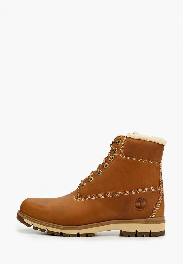 мужские высокие ботинки timberland, желтые