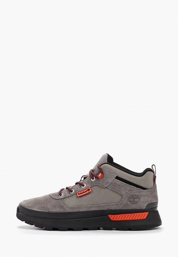 мужские низкие ботинки timberland, серые