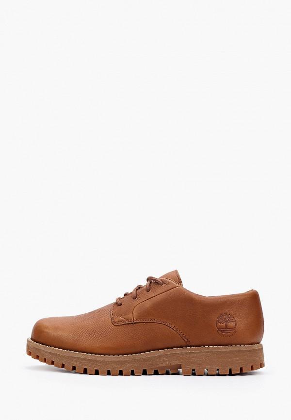 мужские низкие ботинки timberland, коричневые