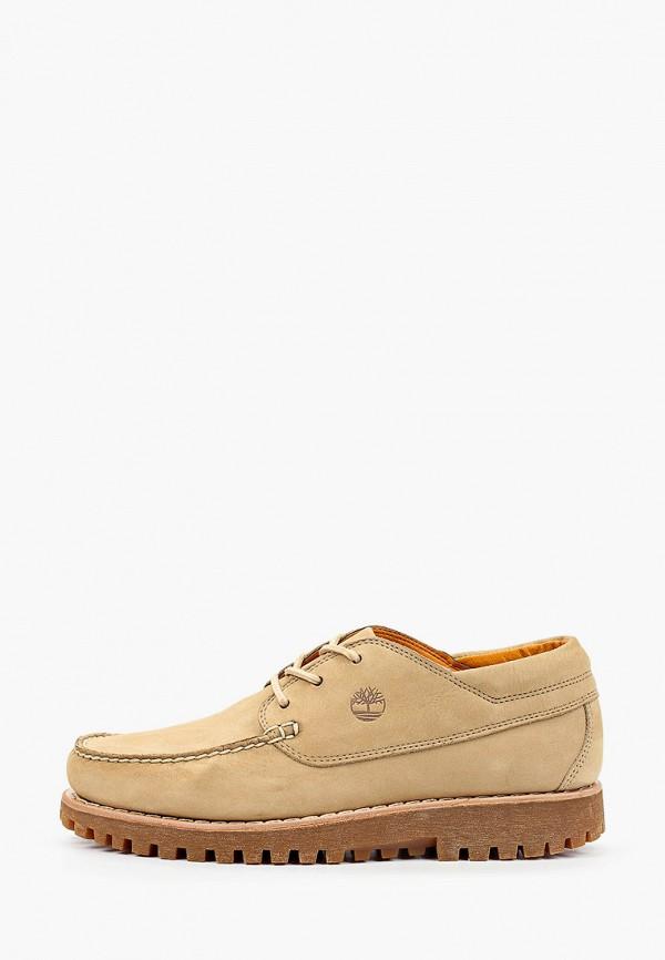 мужские низкие ботинки timberland, бежевые