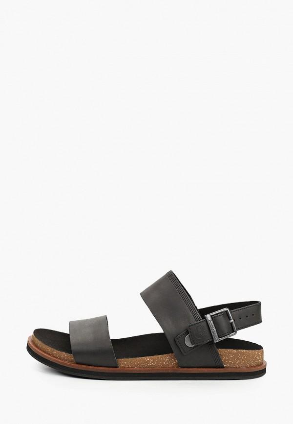 мужские сандалии timberland, черные