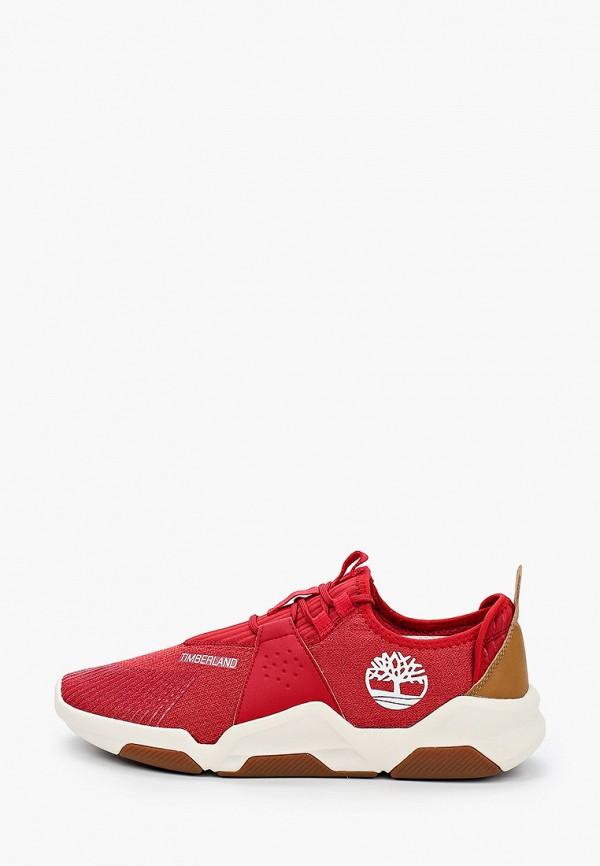 мужские низкие кроссовки timberland, красные