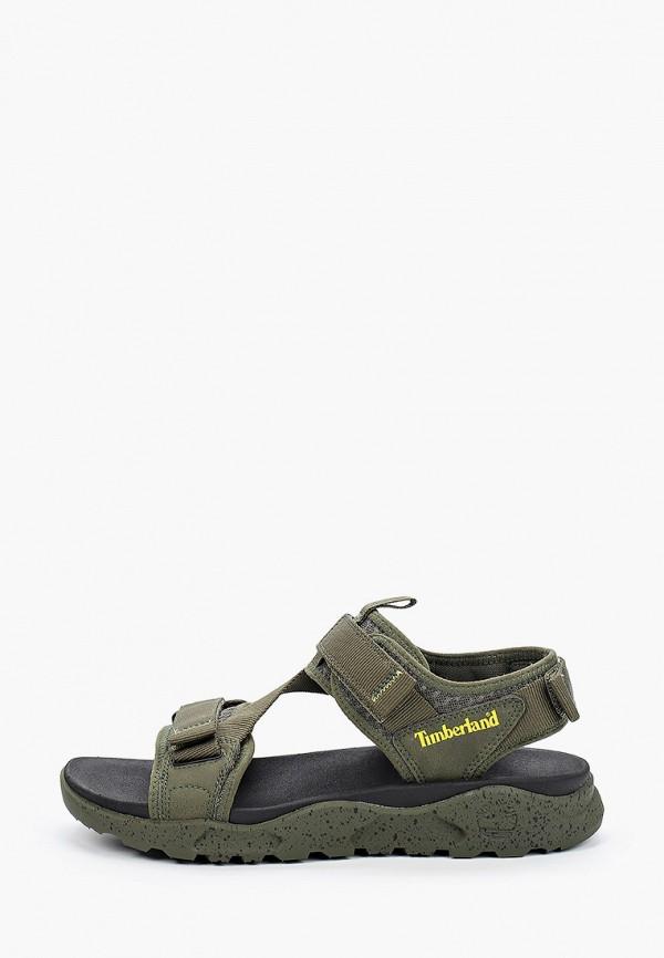 мужские сандалии timberland, зеленые