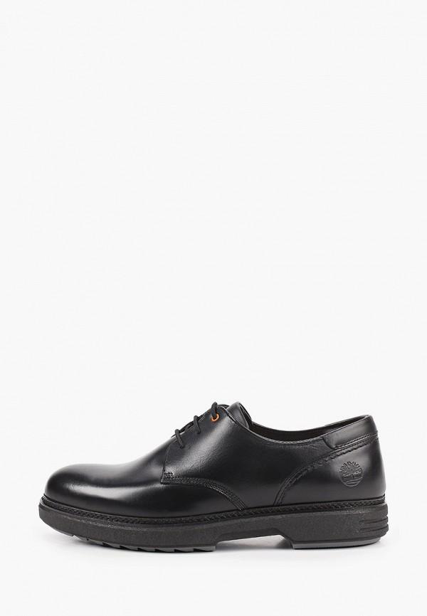 мужские туфли-дерби timberland, черные