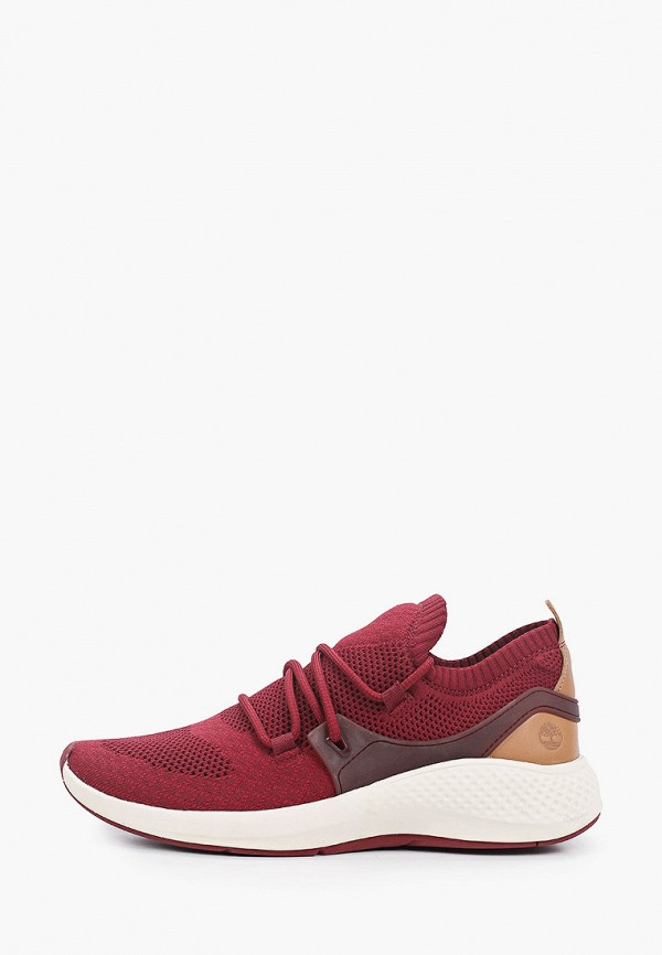 мужские кроссовки timberland, бордовые