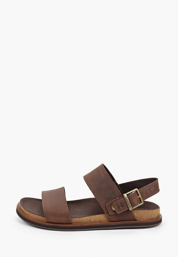 мужские сандалии timberland, коричневые