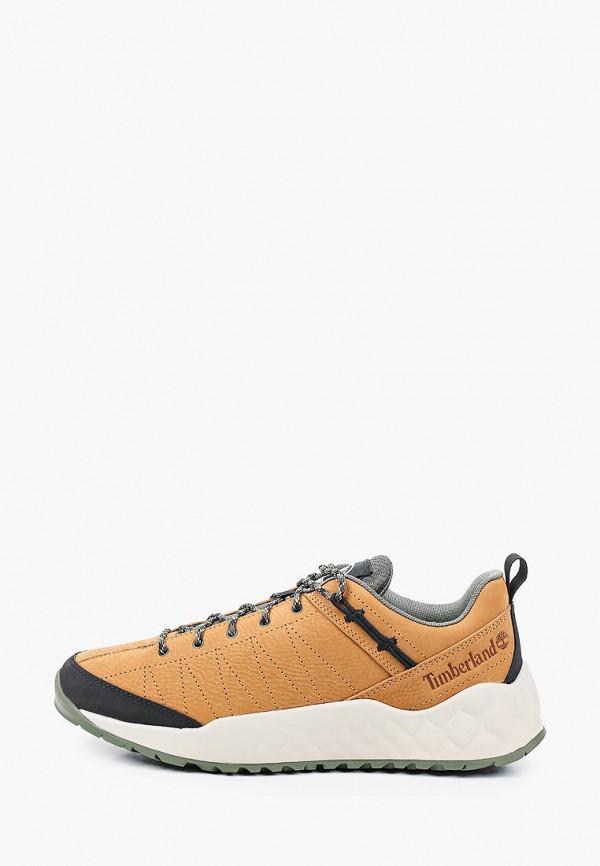 мужские кроссовки timberland, коричневые
