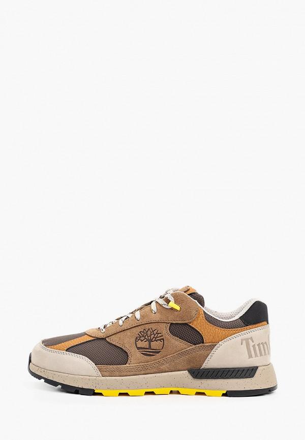 мужские низкие кроссовки timberland, коричневые