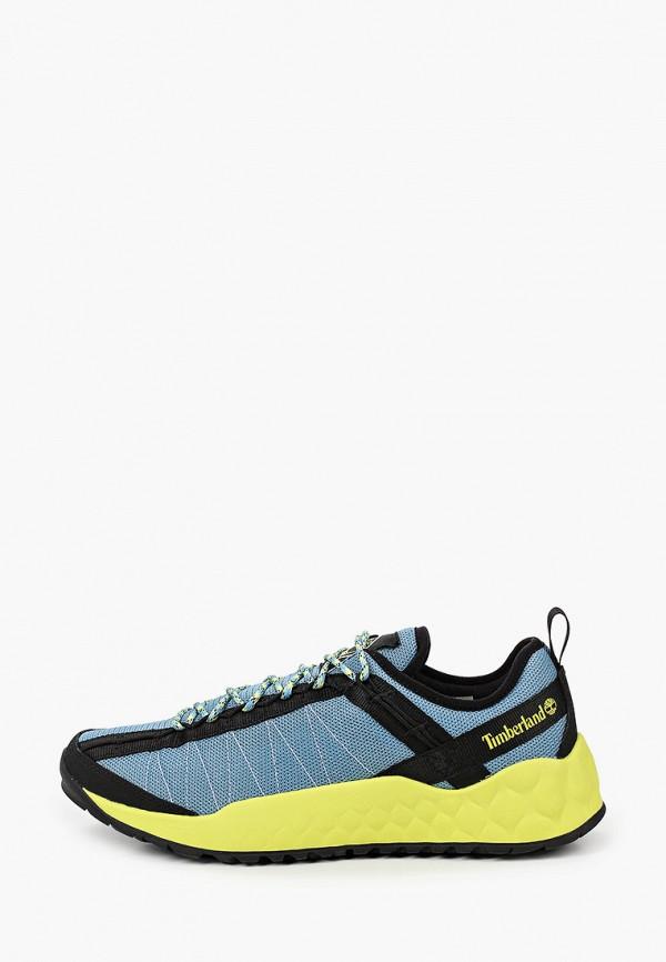 мужские низкие кроссовки timberland, голубые